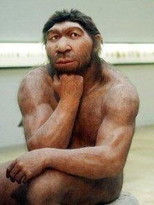 La evolución empezó con la calvicie
