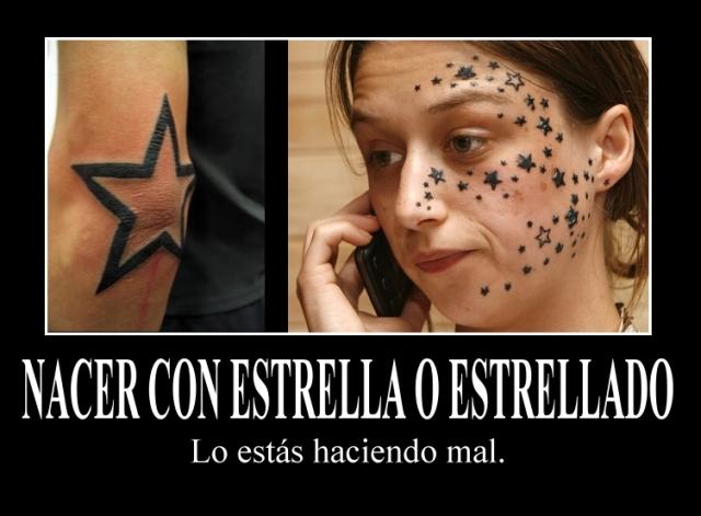 Casi que prefiero nacer sin ningún tipo de estrella.