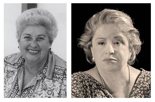 """Siii! La de la derecha es Antonia Iglesias de """"joven"""", la mujer mutante!!!"""