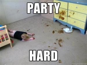 La fiesta del excremento!!!