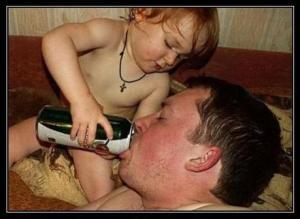 hijo cerveza padre